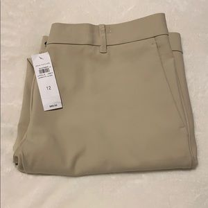 ANN TAYLOR the ankle pant in coastal beige